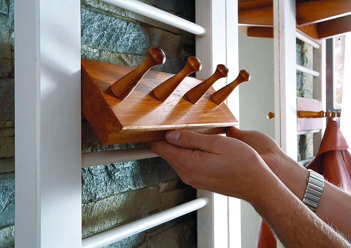 Garderobe weiss honig - Iverson Interiors