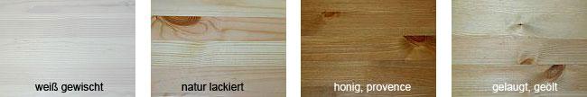 Oberflächenmuster für Kiefernholzmöbel
