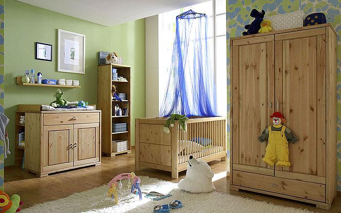 Babyzimmer möbel holz  Babyzimmer Kiefernmöbel - Kiefern Möbel Fachhändler in Goslar ...