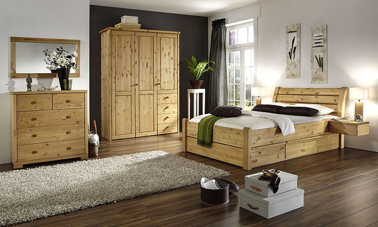 bett mit schubladen echtholz kiefer massiv kiefern m bel. Black Bedroom Furniture Sets. Home Design Ideas