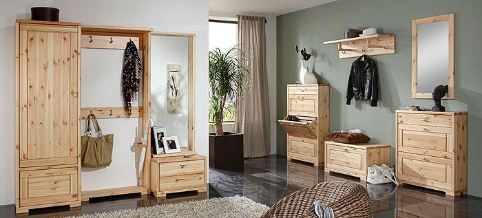 kiefernholz garderoben kiefern m bel fachh ndler in. Black Bedroom Furniture Sets. Home Design Ideas