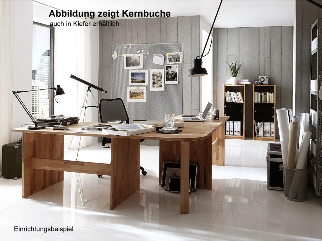 arbeitszimmer bueo massivholz geoelt natur echtholz