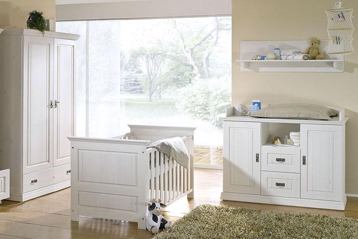Babyzimmer möbel weiß  Kinderzimmer Odette Kiefer massiv Kiefern Möbel Fachhändler in Goslar