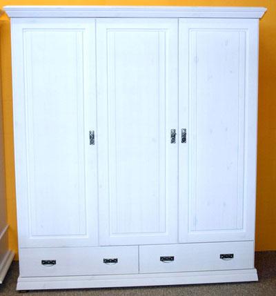 Kleiderschrank für Kinderzimmer - Odette - Kiefer massiv Holz