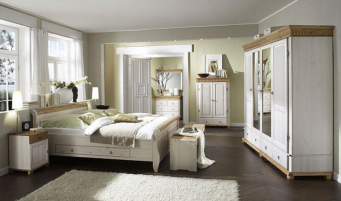 Schlafzimmer Helsinki Kiefer Massiv - Kiefern Möbel Fachhändler In