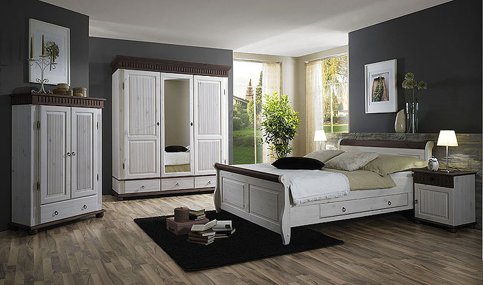 schlafzimmer helsinki kiefer massiv kiefern m bel. Black Bedroom Furniture Sets. Home Design Ideas