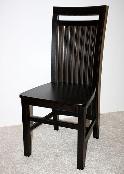 Stuhl Skagen Kiefer massiv Holz kolonial gebeizt und lackiert