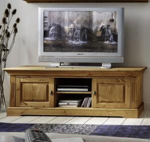 TV-Lowboard Windsor Kiefer massiv gelaugt geölt