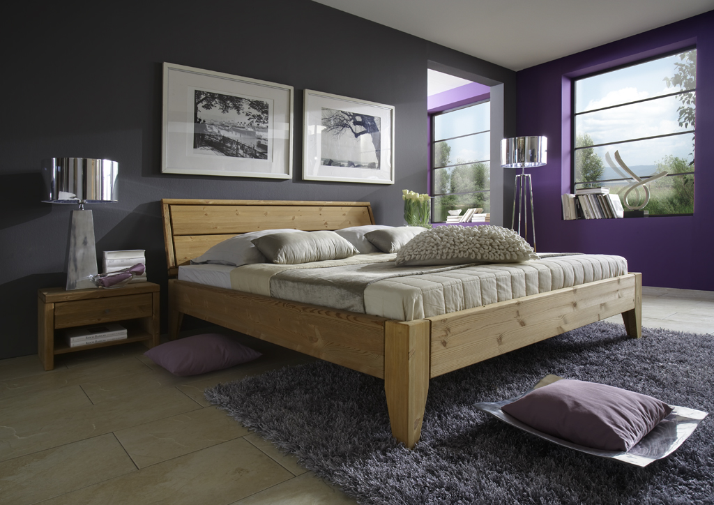 bett in berl nge und berbreite kiefern m bel. Black Bedroom Furniture Sets. Home Design Ideas