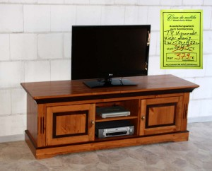 TV-Bank Holz