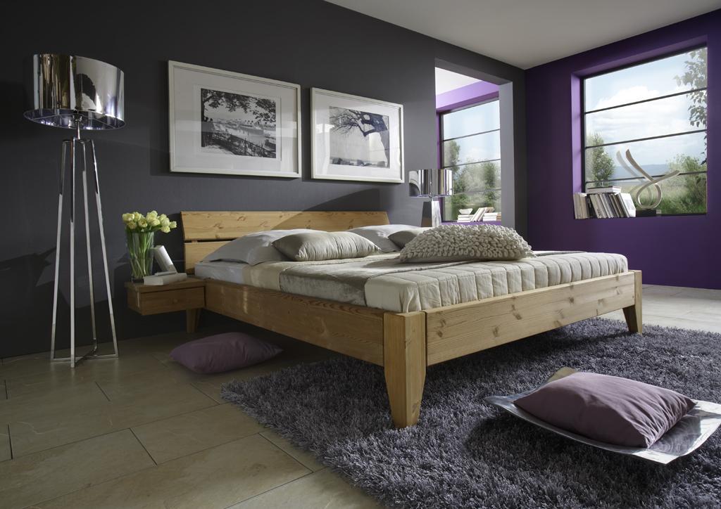 Doppelbett überbreit Kiefer Tjørnbo