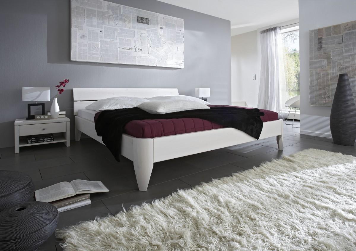 Doppelbett überlang Kiefer