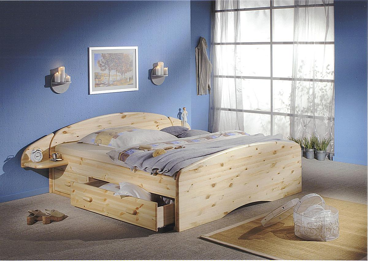 bett mit schubladen echtholz kiefer massiv kiefern m bel fachh ndler in goslar. Black Bedroom Furniture Sets. Home Design Ideas
