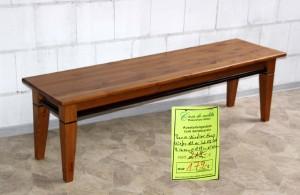 Sitzbank Holz ohne Lehne