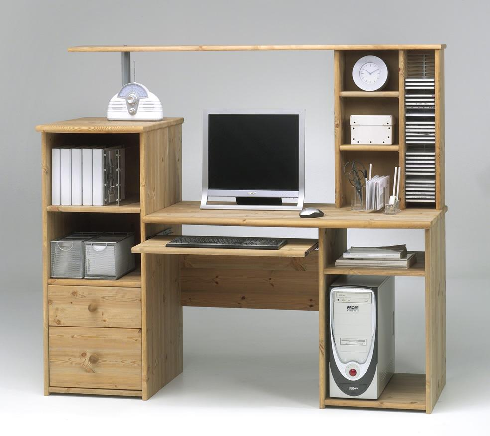 computertisch mit aufsatz bestseller shop f r m bel und einrichtungen. Black Bedroom Furniture Sets. Home Design Ideas